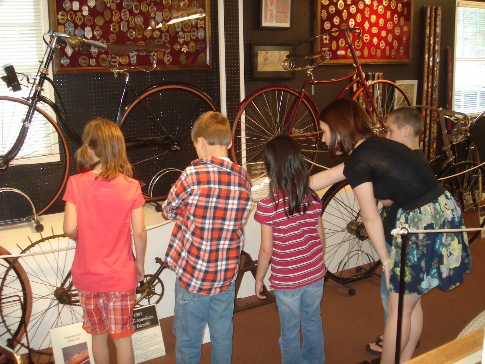 Students on a field trip to the BMA.